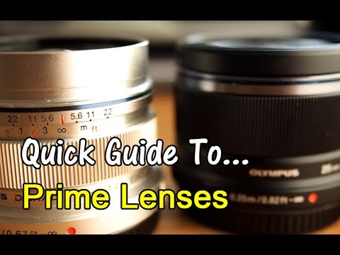 Quick Guide To...Prime Lenses