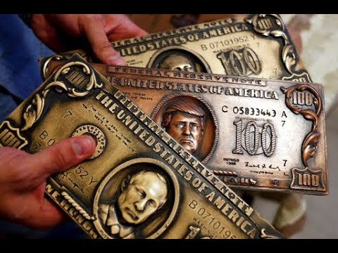 Putin And Trump Get Faces Printed On Dollar Bill Plates