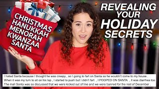 REVEALING YOUR HOLIDAY SECRETS | AYYDUBS
