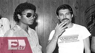 Temas inéditos entre Michel Jackson y Freddie Mercury