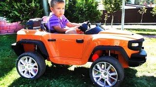 видео дитячі електромобілі