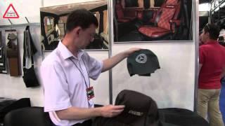 Авточехлы. Кожа, алькантара, нубук. Выставка SIA Автотехсервис.(, 2015-05-29T14:36:24.000Z)