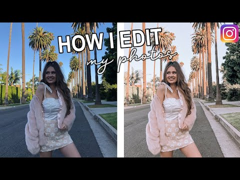 How I Edit My Instagram Pictures!!!