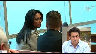 Acompañamos a Pamela Díaz a juicio por robo de su cartera - LA MAÑANA