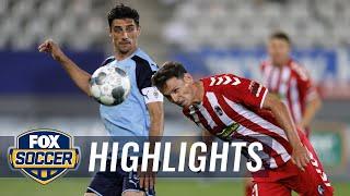 Mönchengladbach Beat By Sc Freiburg 1-0, Falls In Champions League Race | 2020 Bundesliga Highlights