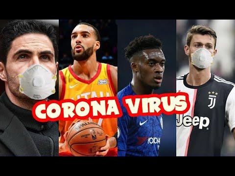 Coronavirus: Voici les sportifs touchés par la maladie !