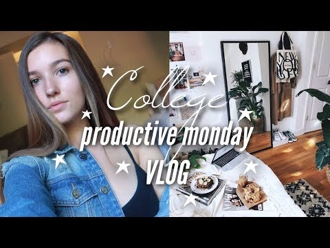 A Productive Monday In College | Michigan State University