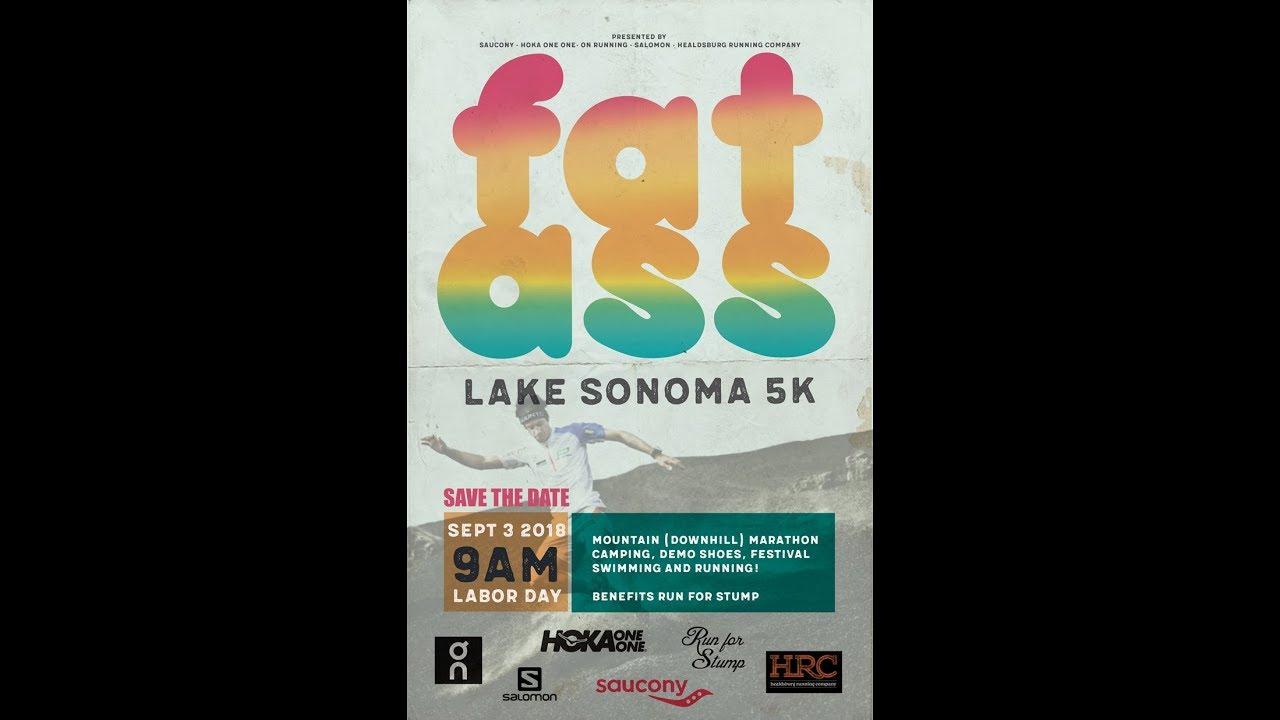 6dcfb99e75a25 2018 HRC Fat Ass Lake Sonoma 5k Clips - YouTube