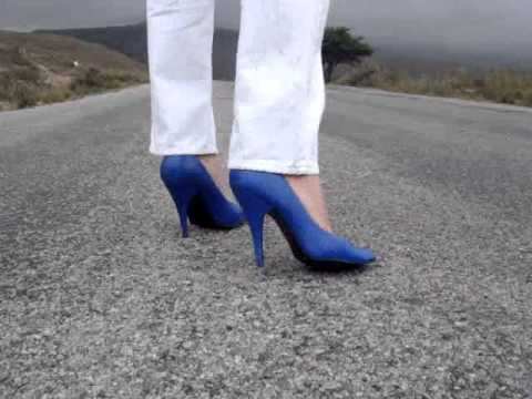 Baby Blue Pumps !!!