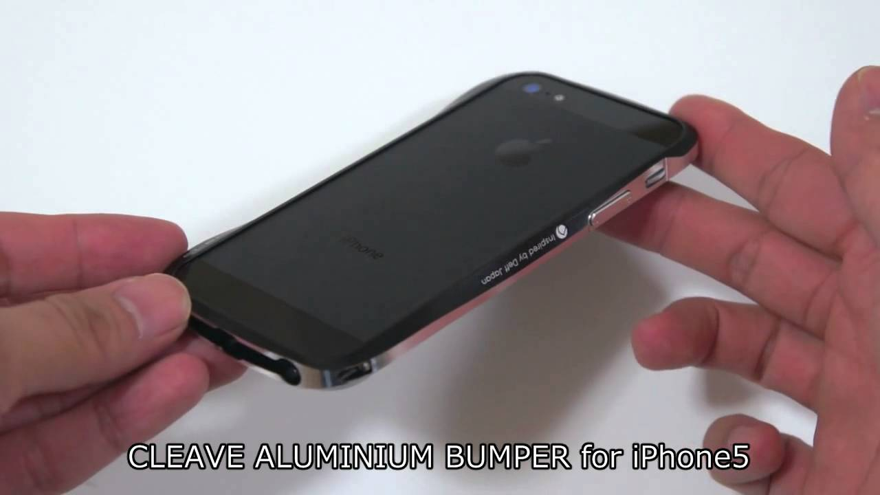 on sale 871bb 22d2e CLEAVE ALUMINIUM BUMPER for iPhone5