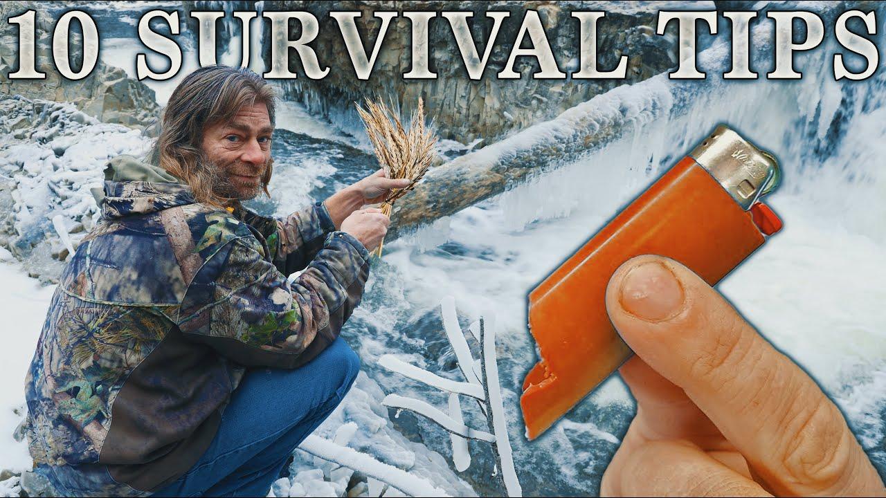 10 Survival Tips to Save Your Life | PLUS BIG Bonus Trick!