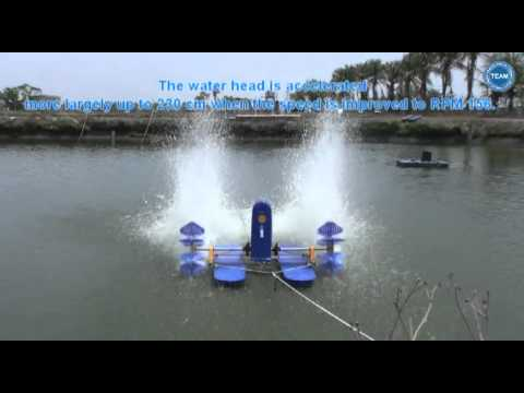 Super High Speed Paddlewheel Aerator TA-66HH & TA-55HH