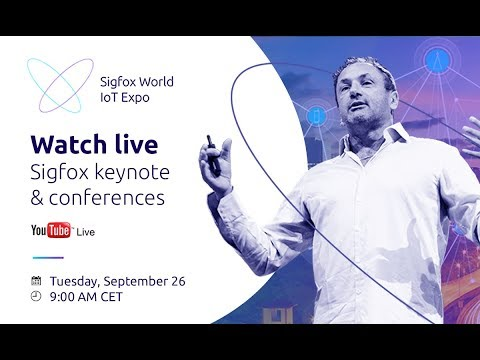 Sigfox World IoT Expo 2017