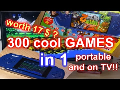 Chinese Handheld Console RS-2A - COMPLETE REVIEW! ALL 300 GAMES PLAYED!  中国游戏机 Part 1/4