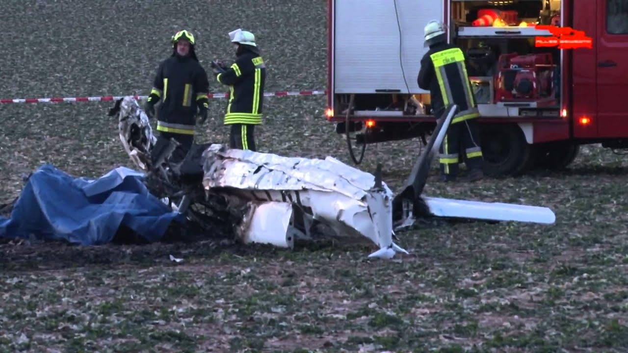 Zwei Tote Bei Flugzeugabsturz 11 02 2012 Youtube