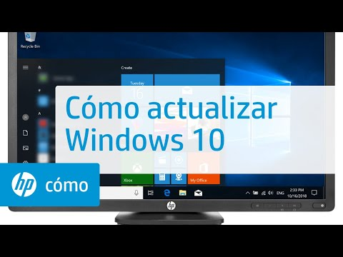 Cómo actualizar Windows 10 | Equipos HP | HP