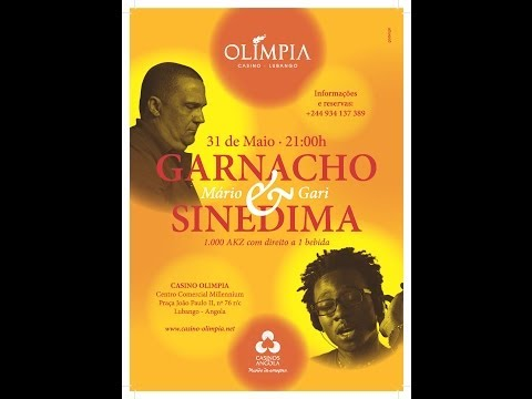 Mário Garnacho & Gari Sinedima ao Vivo no Casino Olimpia