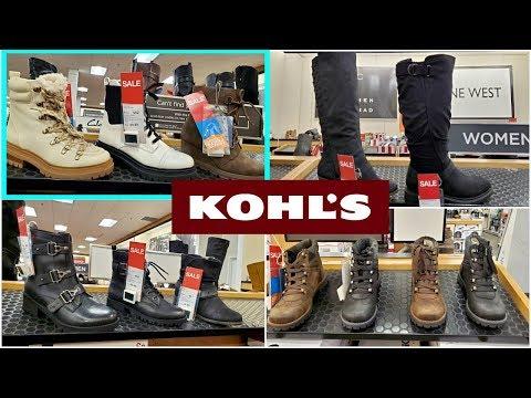 KOHL'S BOOTS SHOE SHOPPING FALL
