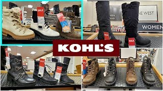 KOHL'S BOOTS SHOE SHOPPING FALL / WINTER * SHOP WITH ME * 2019