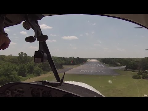 Flying in and out of Spruce Creek Fly-In Community, Florida