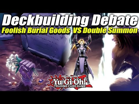 Yu-Gi-Oh! Deckbuilding Theory! SPYRAL Deck Debate— Foolish Burial Goods vs Double Summon! Post-CIBR