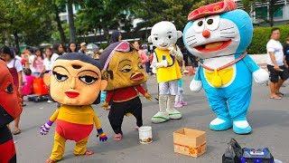 Download Mp3 Upin Ipin Dan Doraemon Bang Jarwo Joget Lucu Banget