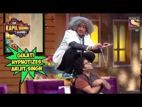 Download Youtube: Dr. Gulati Hypnotizes Arijit Singh - The Kapil Sharma Show