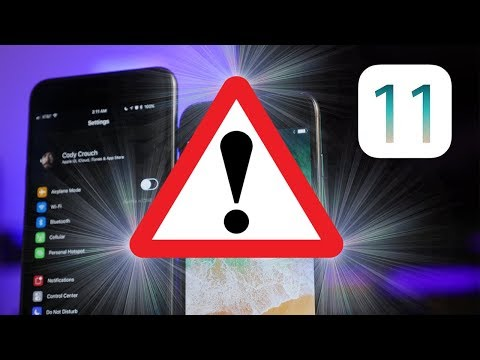How To Fix iOS 11 PROBLEMS!