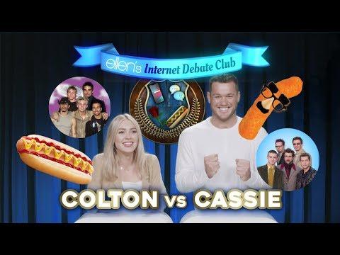 Casey Carter - Watch: Colton and Cassie on Ellen's Internet Debate Club