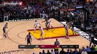 San Antonio Spurs vs Miami Heat   Full Game Highlights   October 25, 2017   2017 18 NBA season