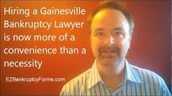 GAINESVILLE BANKRUPTCY LAWYER Alternative $44: STOP JUDGMENTS AND FORECLOSURE