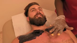 Repeat youtube video I Got My Chest Waxed ( And Back Routine)