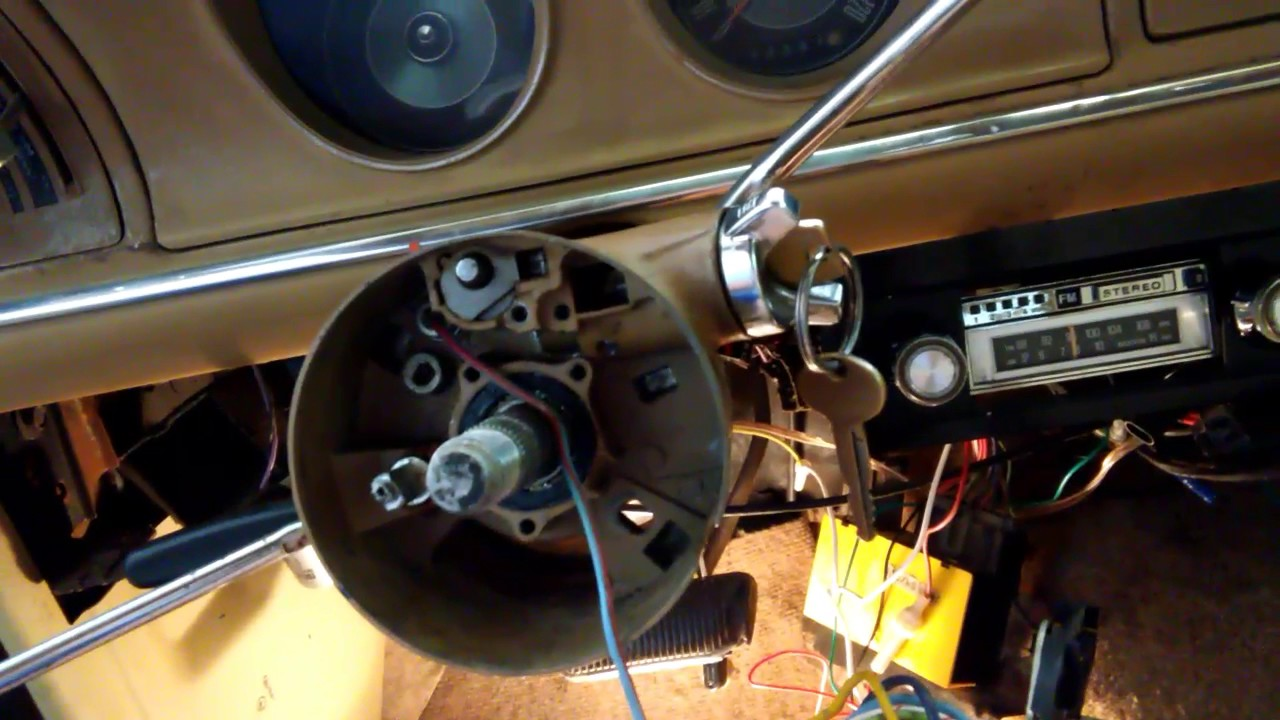Cant Remove My Ignition Switch Cylinder On 1974 Mercury Comet Cougar Wiring Need Help