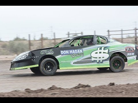 1/27/18 Canyon Speedway Park IMCA Stock Car
