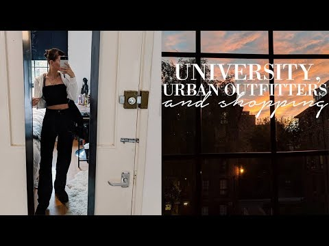 Balancing University and working at Urban Outfitters
