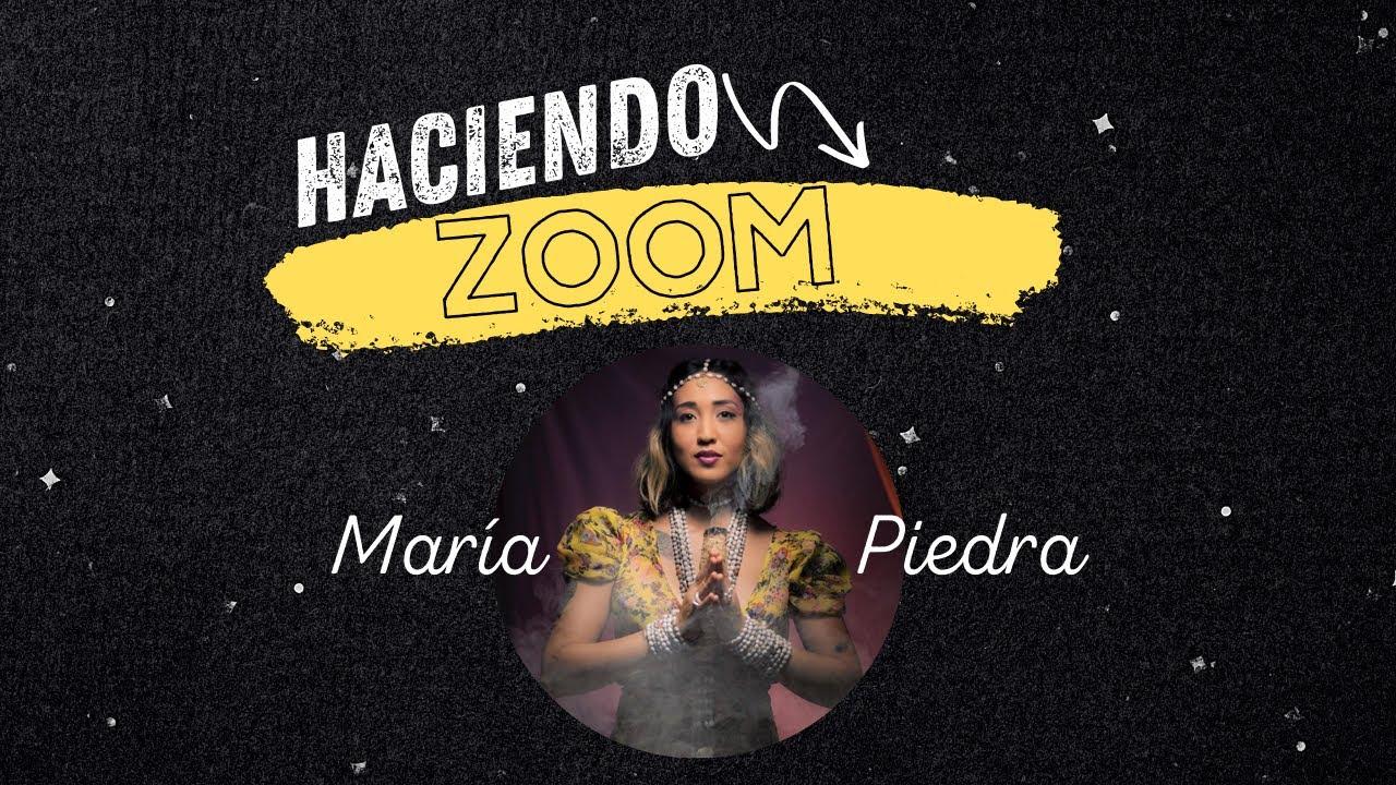 #HACIENDOZOOM RENEE con María Piedra - La música medicina, Conexión Interna con la Naturaleza
