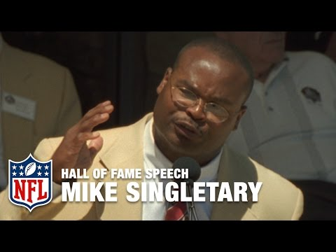 "Mike Singletary ""Winning"" Hall of Fame Speech 