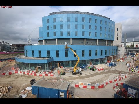 New Papworth Hospital - Timelapse to current day (December 5, 2017) - Ely Standard