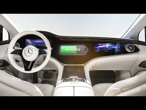 Top 5 Mercedes EQS Features: Electric Luxury! - Marques Brownlee