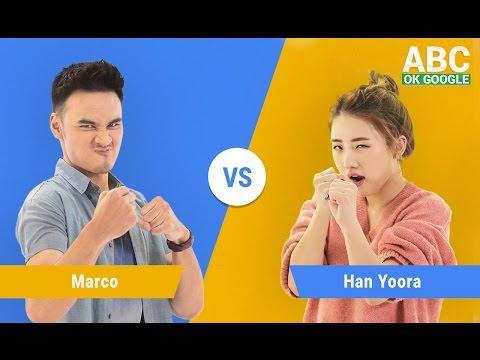 #SelaluTauMusik: Teaser Han Yoo Ra vs Marco main ABC OK Google