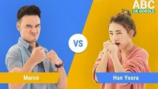Gambar cover #SelaluTauMusik: Teaser Han Yoo Ra vs Marco main ABC OK Google