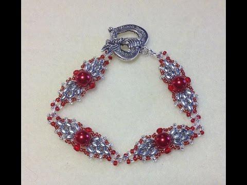 (Tutorial) Christmas Ornament Bracelet (Video 104)