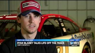 ryan blaney talks life off the track