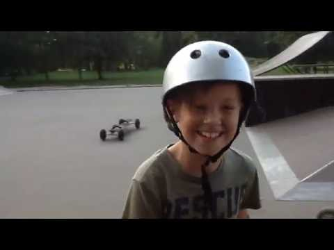 Mountainboarding step by step