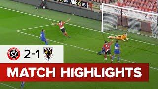 Blades U18s 2-1 AFC Wimbledon | FA Youth Cup goals