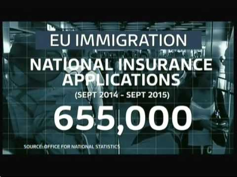 UK EU Referendum   Economy & Immigration   ITV News   12thMay16