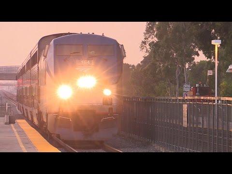 FAST AMTRAK TRAINS !!! (TUSTIN, CA)