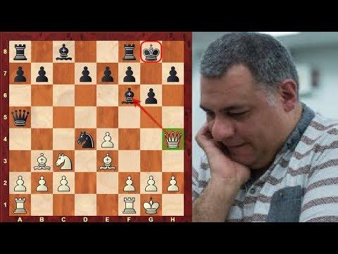Mikhail Tal's Trainer: Rashid Nezhmetdinov Top 10 Chess Sacrifices of all time!
