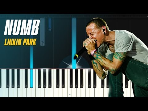 "Linkin Park - ""Numb"" Piano Tutorial - Chords - How To Play - Cover"