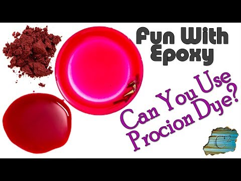 Fun With Epoxy: Can You Use Procion Dye?
